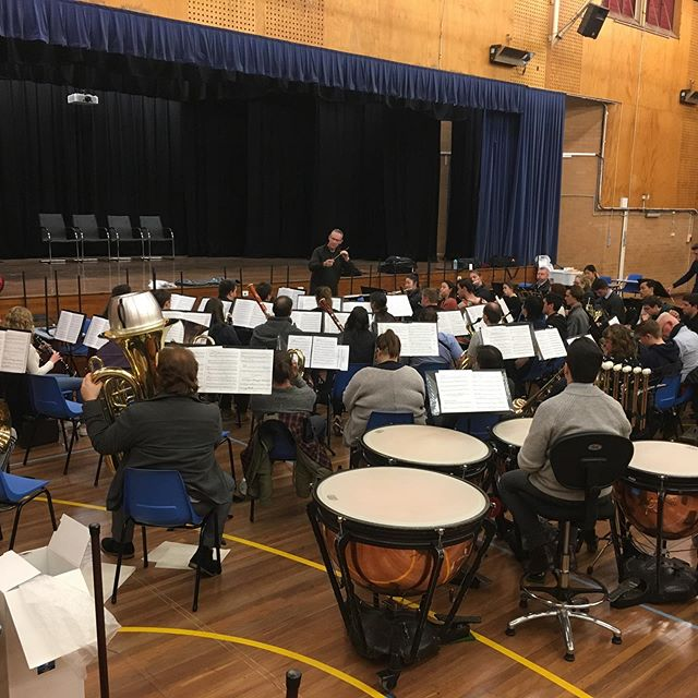 Final rehearsal before the @bandsnsw state band championships.....good sounds! Well, we think so anyway. 😊 👀 Spot the special guests in tonight's audience! See you in Penrith on Saturday, or tune in to @brassbanned for the live stream - Open A Grade from 4pm. 🎶🎺🎷🥁🎹📯🏆🤞🏻