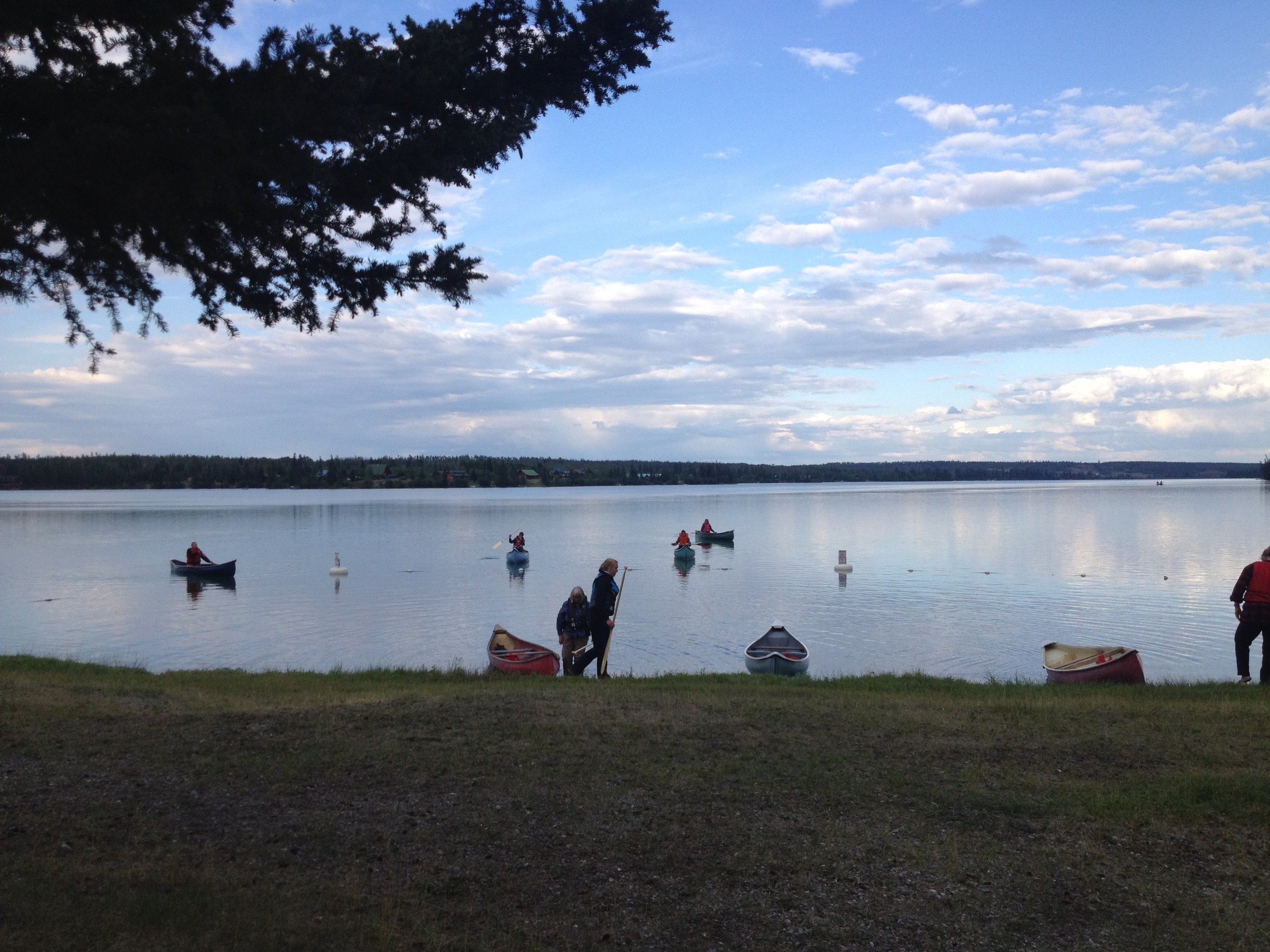 See all of Big Bar Lake on our Canoe Trip around the whole lake.
