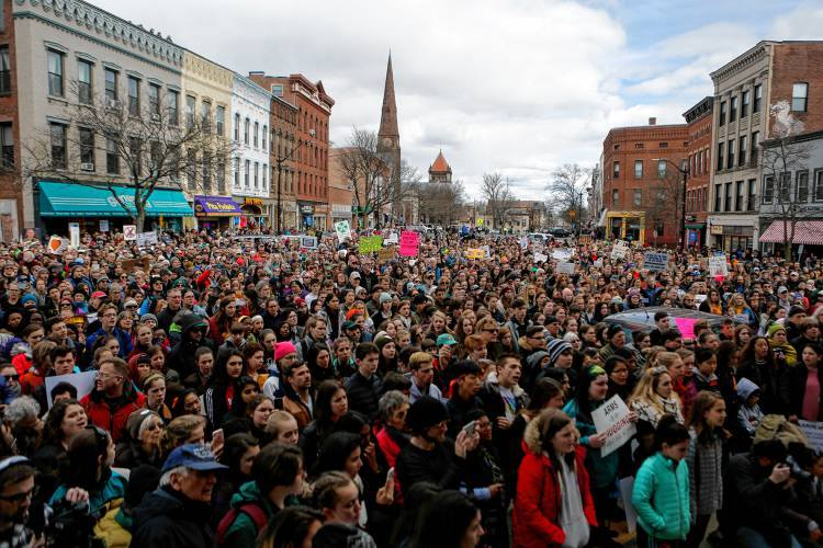 It all started when… - The Students of Marjory Stoneman Douglas sent a shockwave of energy to activists around the country. Within weeks, group chats had formed connecting students from over 15 schools in the Pioneer Valley. While each of us worked on our own walkout and some have been working on different marches, all of us know that we must keep moving.