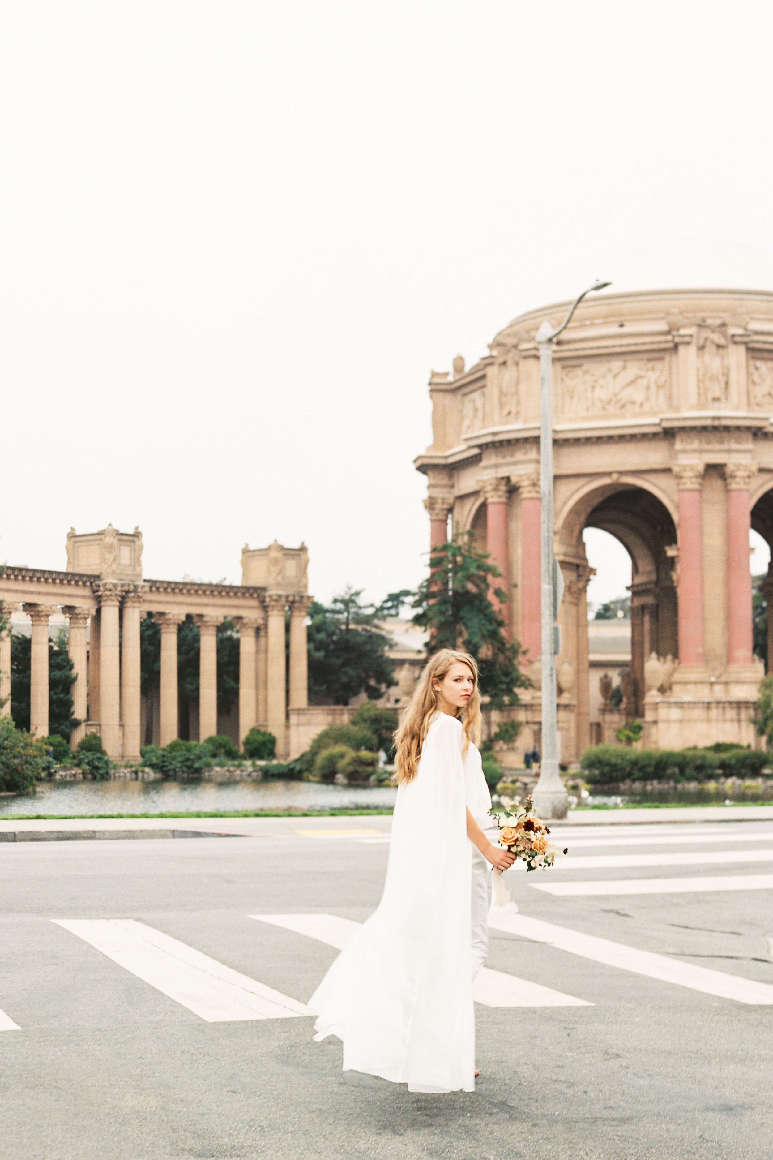 Modern Elegance at the Palace of Fine Arts