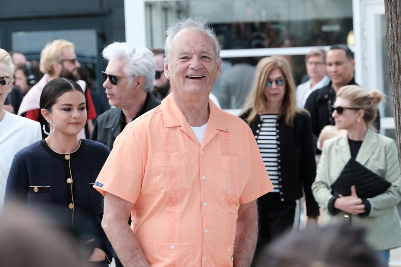 Same day : Bill Murray and Selena Gomez