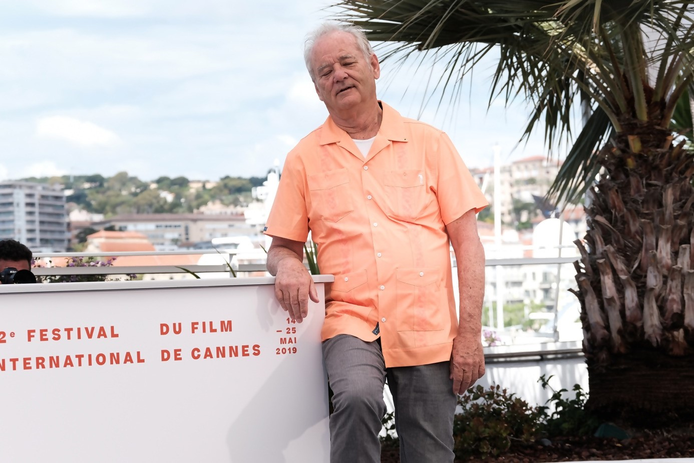 Same day : Bill Murray always entertaining crowds during photo call in Cannes Film Festival