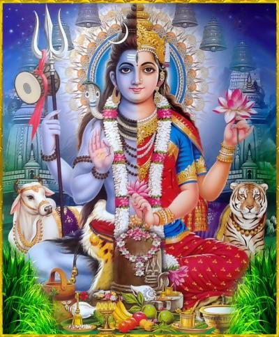 Hermaphrodite Hindu god/goddess Ardhanarishvara