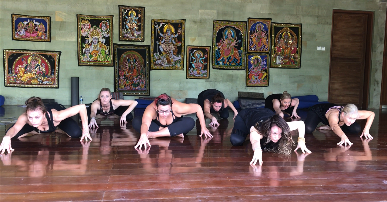 Dance of the Deities rehearse the Kali Dance
