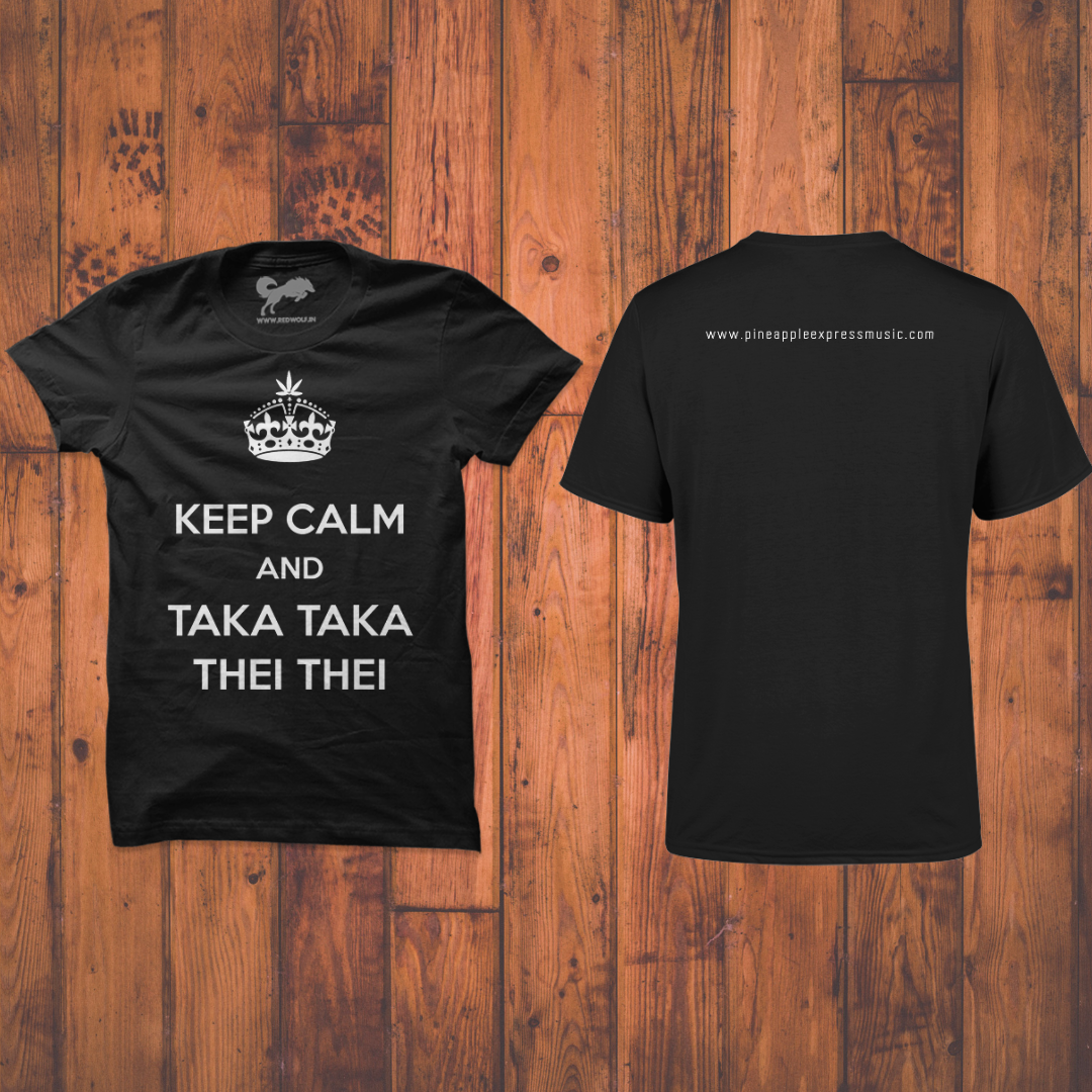 Keep Calm and TTTT T-shirt  ₹500 (including shipping)