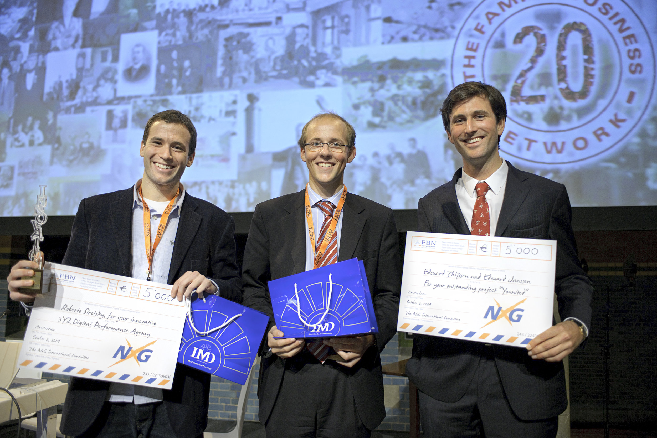 FBN 20th International Summit in Amsterdam, Netherlands