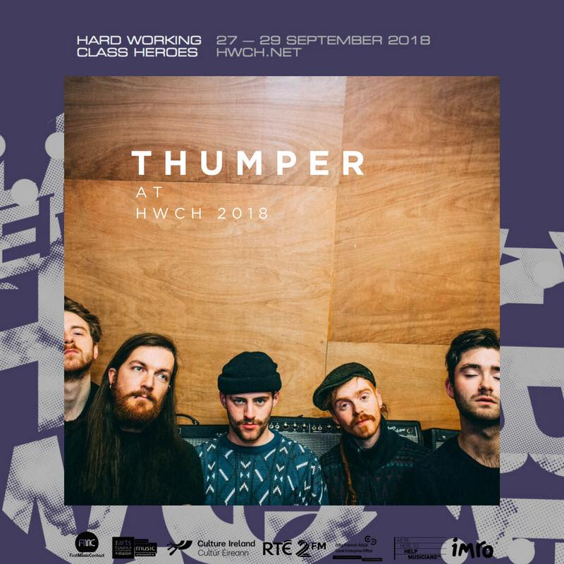 THUMPER play hard working class heroes -
