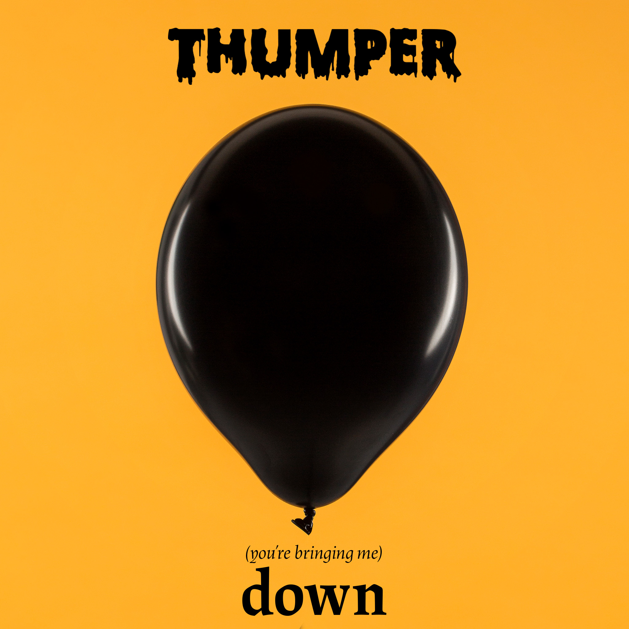 THUMPER (You're Bringing Me) Down Music Ireland Spotify Raised by Wolves PR