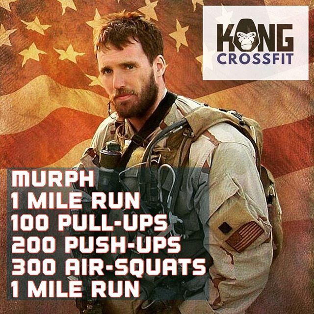 Saturday the 25th of May at 9:30am, we will commemorate Michael P. Murphy. a Navy SEAL killed in action in 2005—CrossFit boxes around the U.S. host a Murph every Memorial Day.  We are having it on Saturday because most people can attend. We will have a BBQ and dj @michaelsagesounds to help us grind out those reps. Bring food, bring drinks, bring pre-workout, bring friends and family.  This workout can be done in any way your able to do it. Scale the reps, partner the workout. Do what you can! If you can't make it at 9:30, you can late start the workout. We will be at the gym till 2:30 or later.  THIS WILL TAKE PLACE IN SHELTON LOCATION. #murph #murphchallenge #america #navyseals #kongstrong #crossfit
