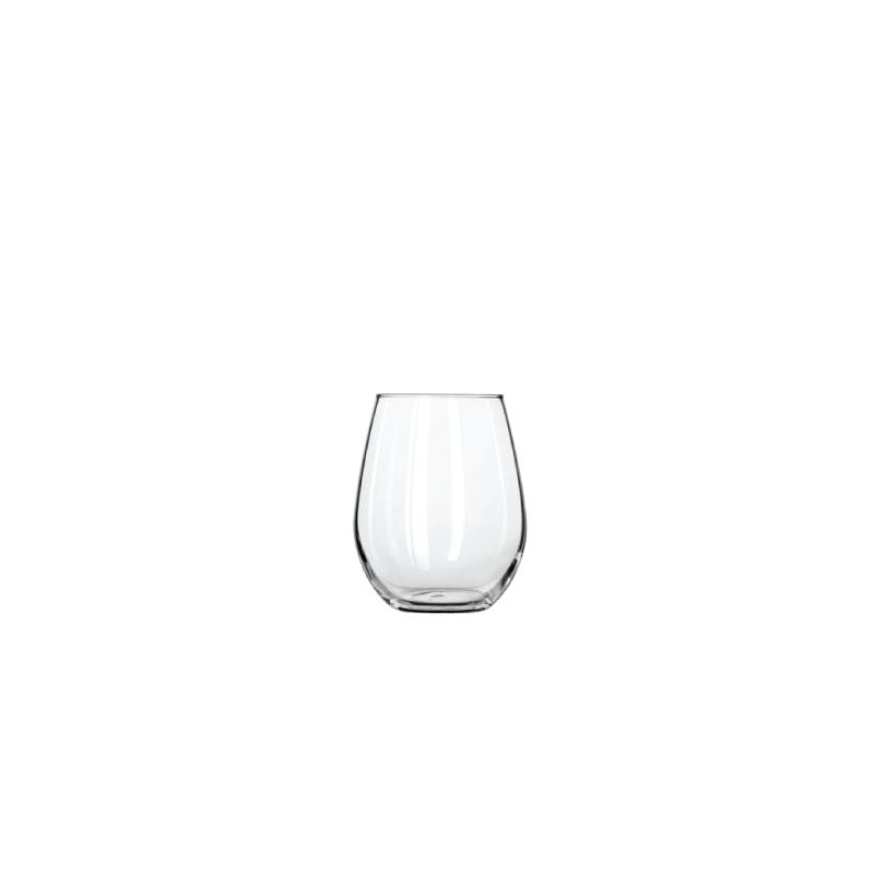 Stemless White Wine Glass  | Atlanta Party Rentals