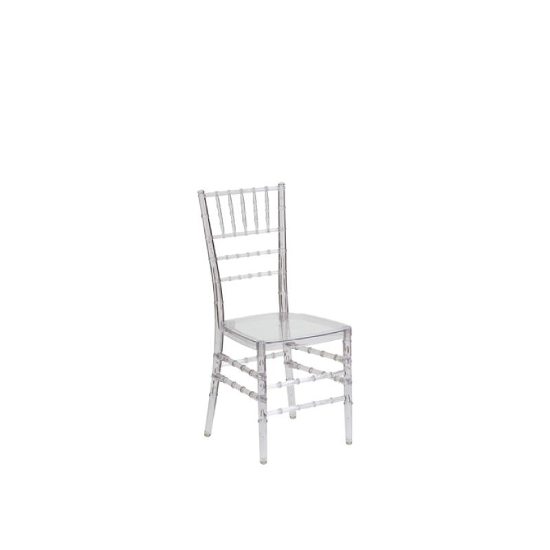 Clear Ghost Chiavari Chair    Atlanta Party Rentals