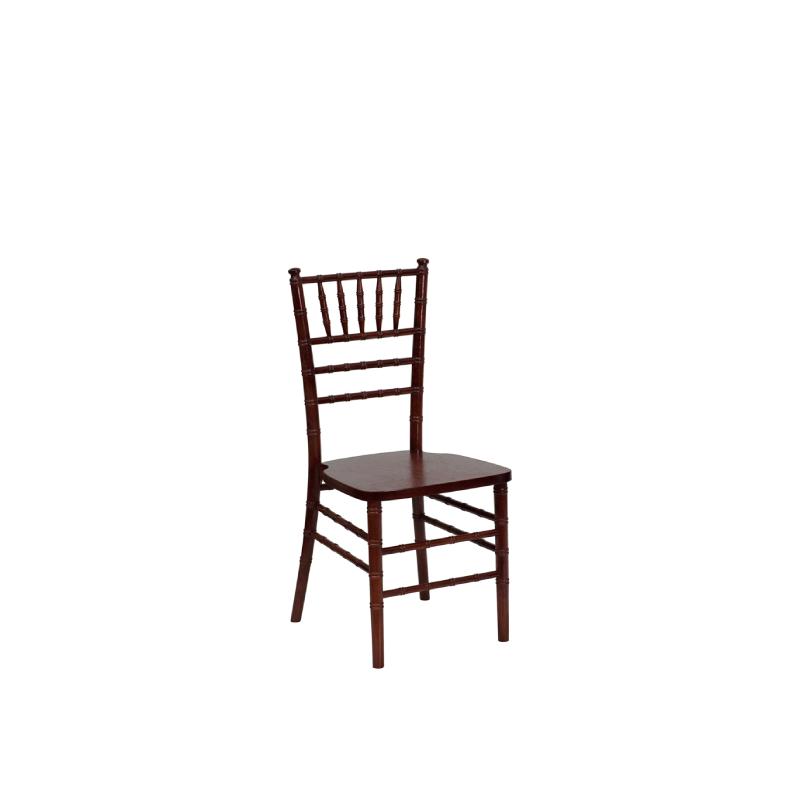 Mahogany Chiavari Chair    Atlanta Party Rentals