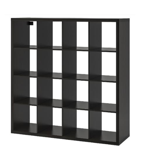 Black Cube Bar Shelf | Atlanta Party Rentals