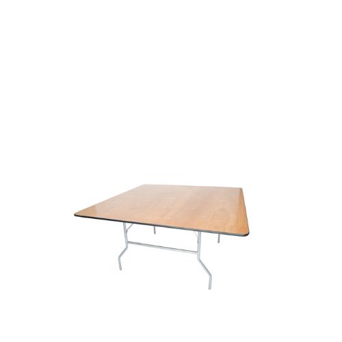 Folding Square Table | Atlanta Party Rentals