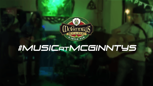 Live Music - #MUSICatMCGINNTYS is our Live Music series where we feature Open Mic Mondays, Live Band Karaoke Tuesdays, Live Music Thursdays and No Cover Shows on Saturdays. Whether you play, sing or just like to listen, we've got you covered!READ MORE…
