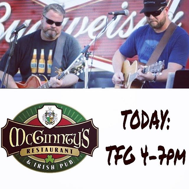 Token Fat Guys always Rock the House when they show up.  Come see them starting at 4pm today.  It's always a great event when they perform.  See you there!  #musicacginntys #mcginntysirishpub