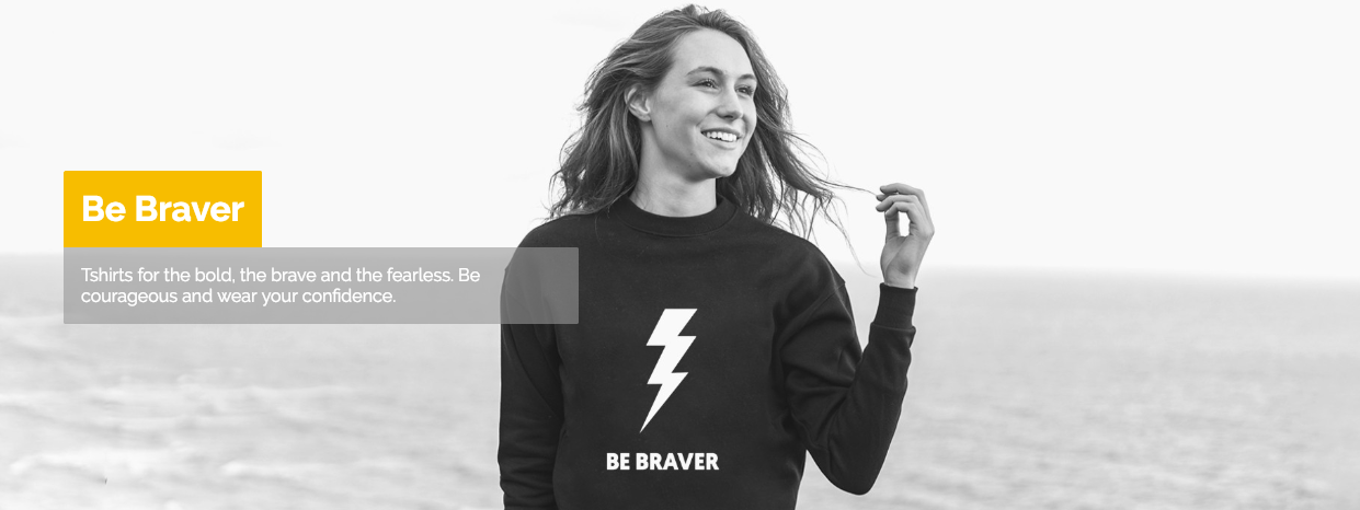 NEW RANGE LAUNCH - Clothing for the brave the bold and the fearless - take me there