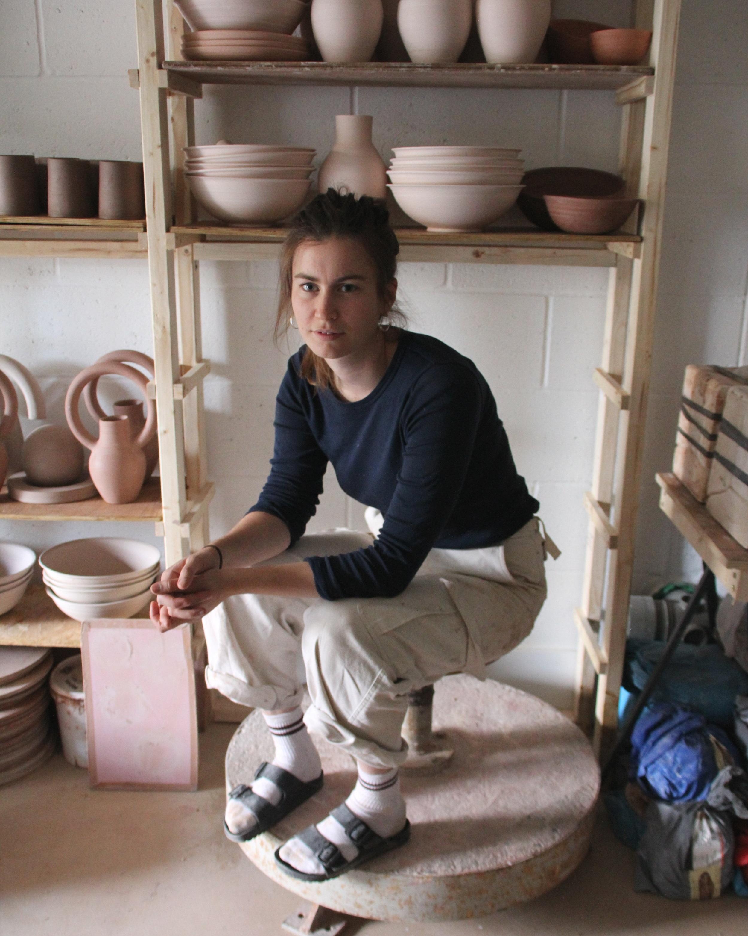 Contemporary ceramics, handmade in London using traditional methods. -