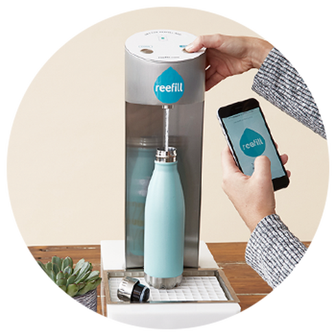Reefill is making water for your water bottle easier to find in NYC