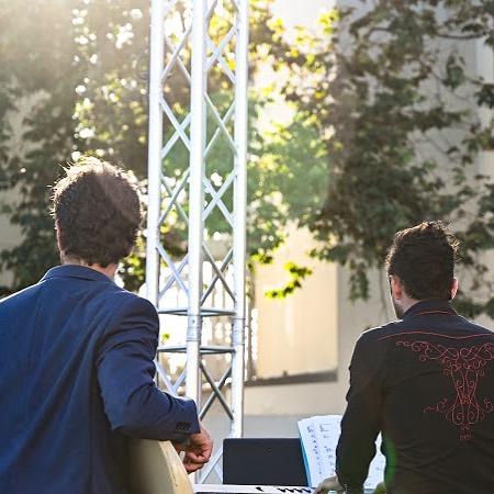 Dan and Gus❤️ photo by @byjillianlin . . . . . . #rock #music #show #cover #band #fun #love #wedding #corporate #event #socal #santabarbara
