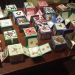 November 2016:  Jean showed us how to make these lovely boxes for Christmas.