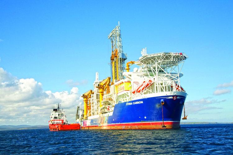 Exxon's Stena Carron struck black gold in offshore Guyana