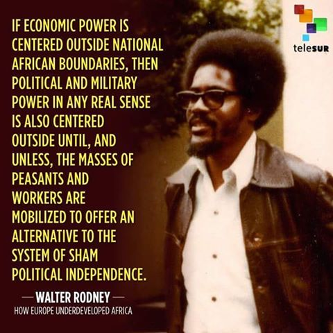 Marxist Rodney: Pan-Afrikanist, historical