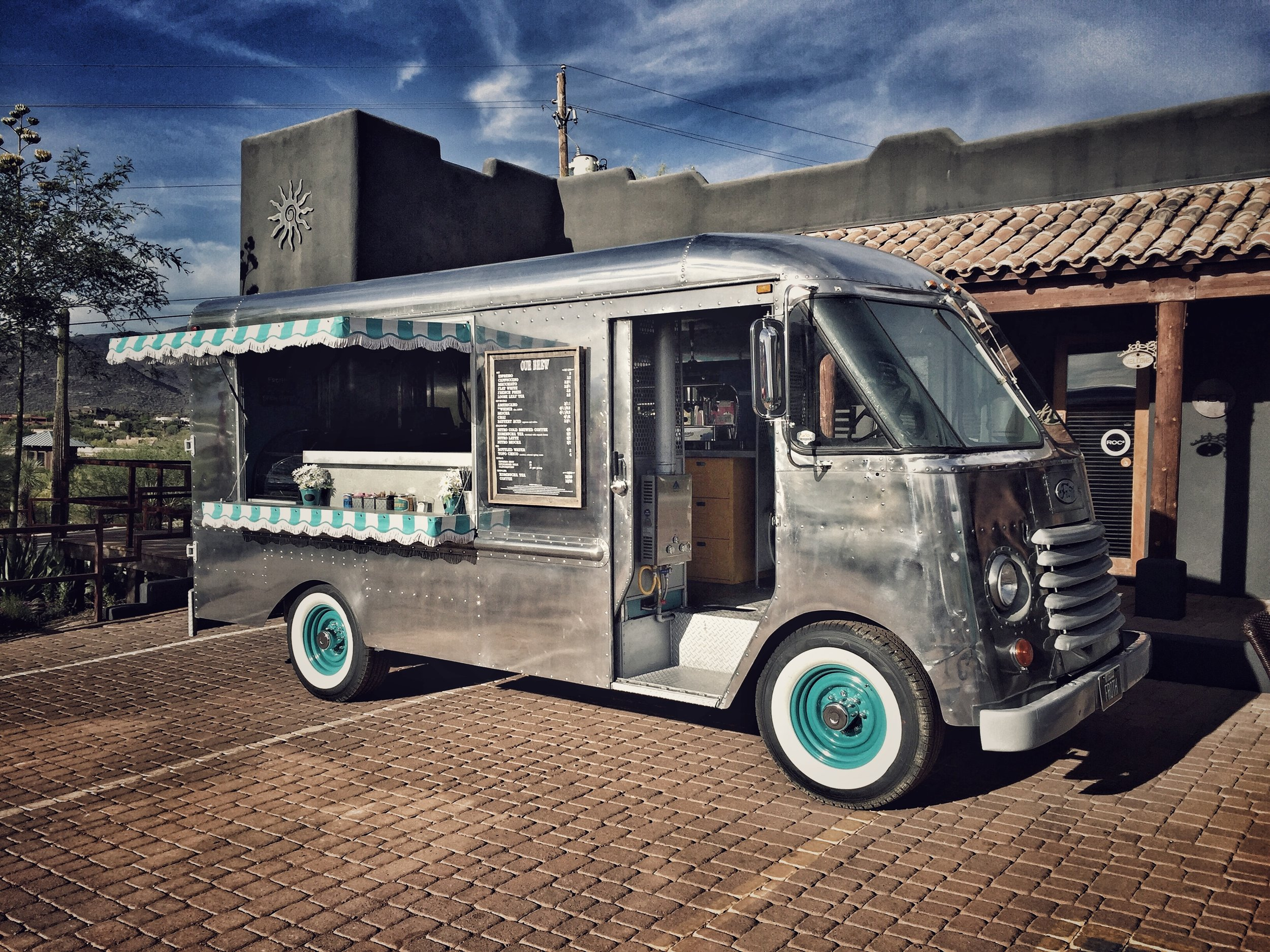 Froth Coffee's badass truck