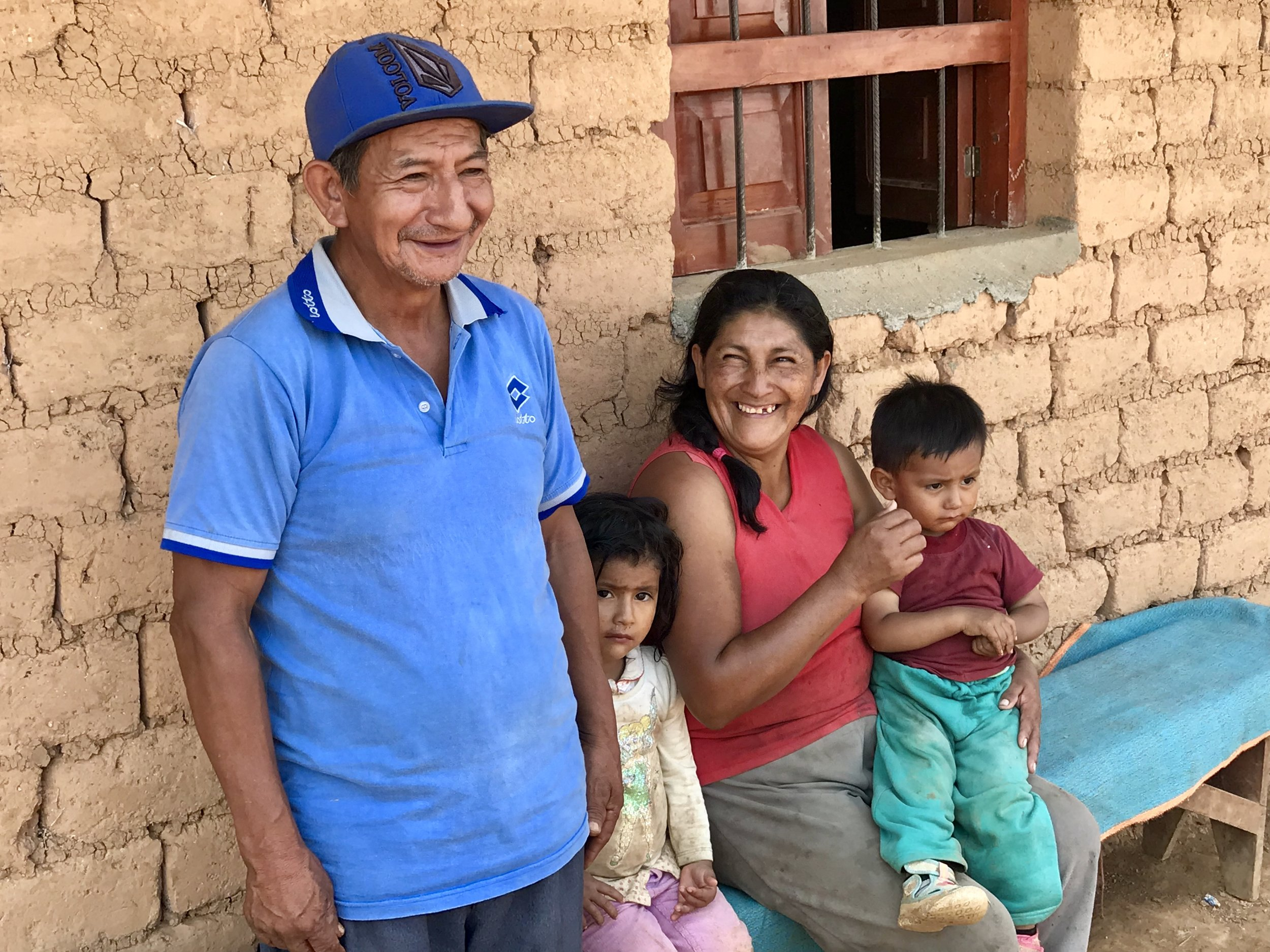 Coffee family - Peru