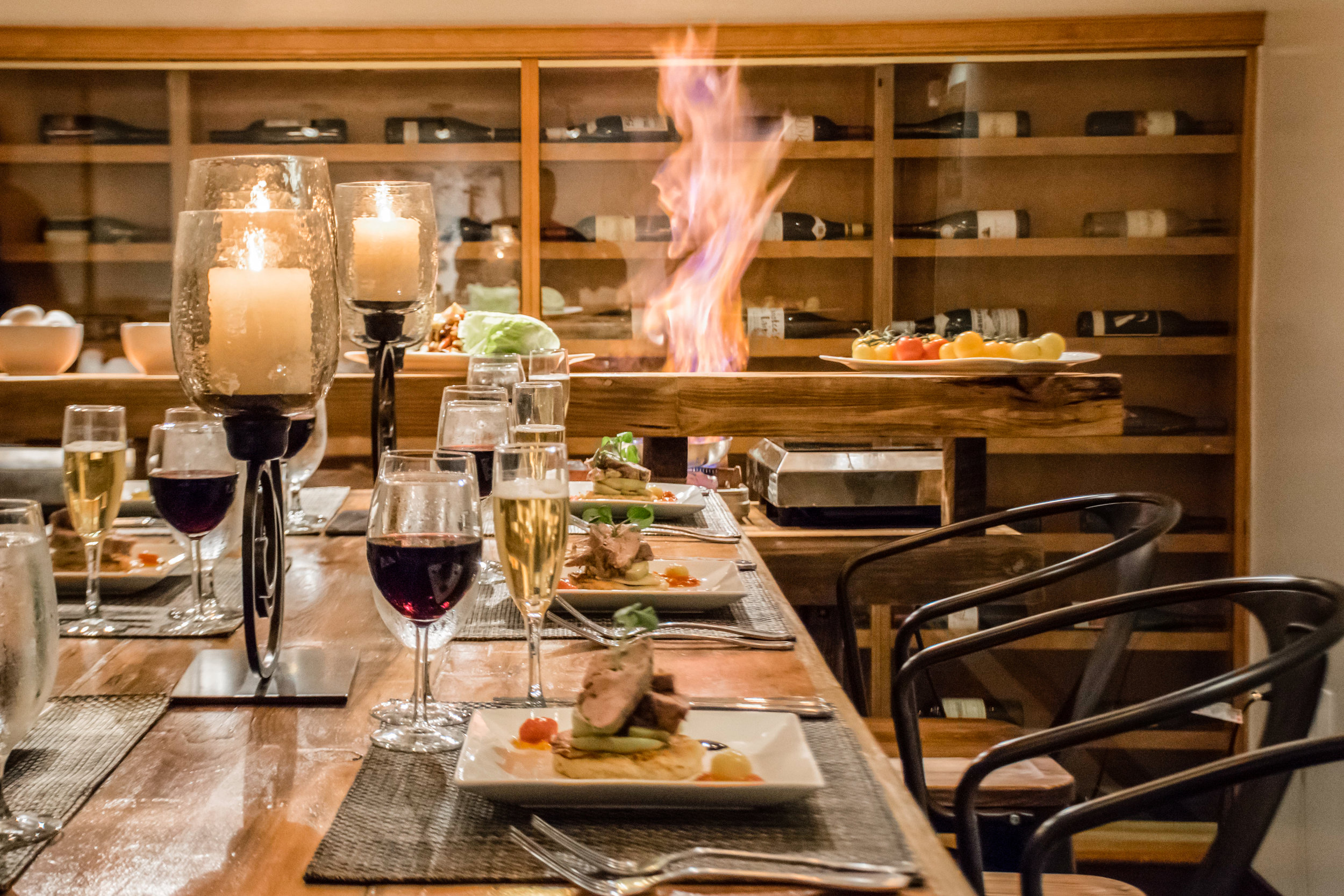 ADMIRAL FELL INN - CHEF'S TABLE | BALTIMORE, MD