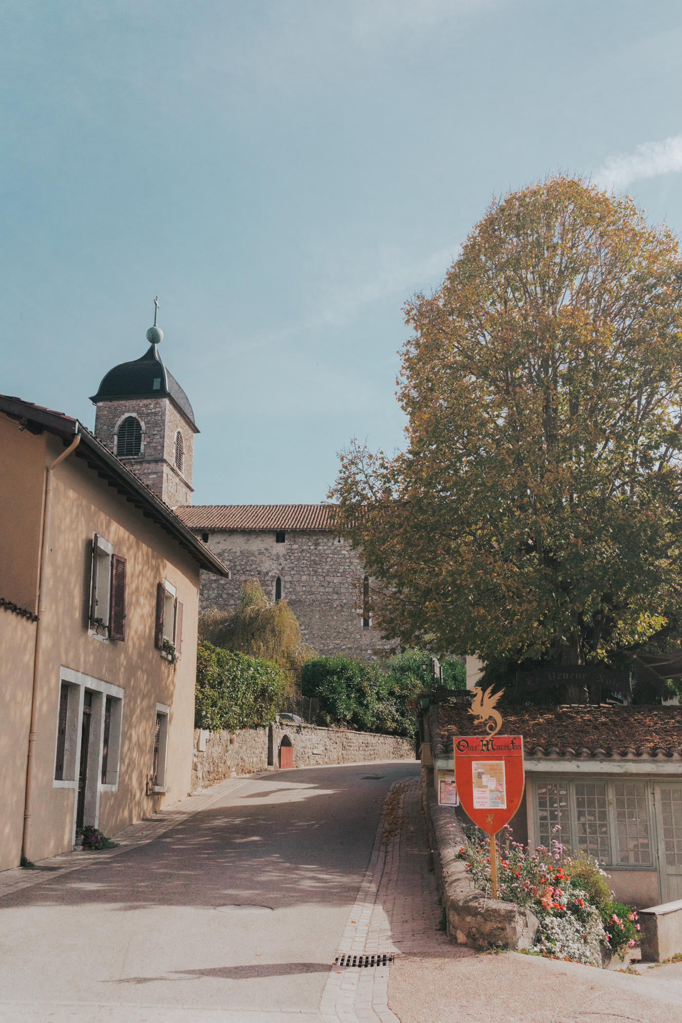 Day trip from Lyon to Perouges France