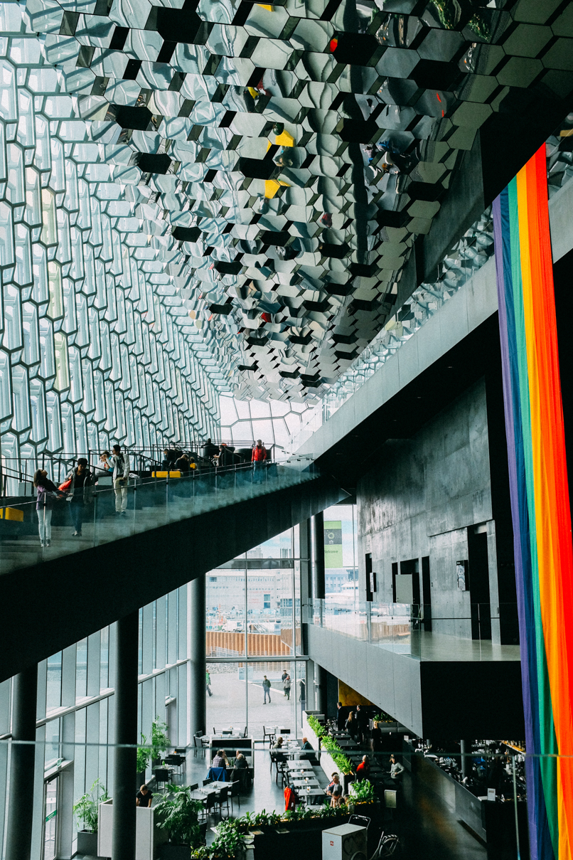 Harpa Concert Hall Reykjavik - 13 Fun Things To Do In Reykjavik in the Summer #Iceland