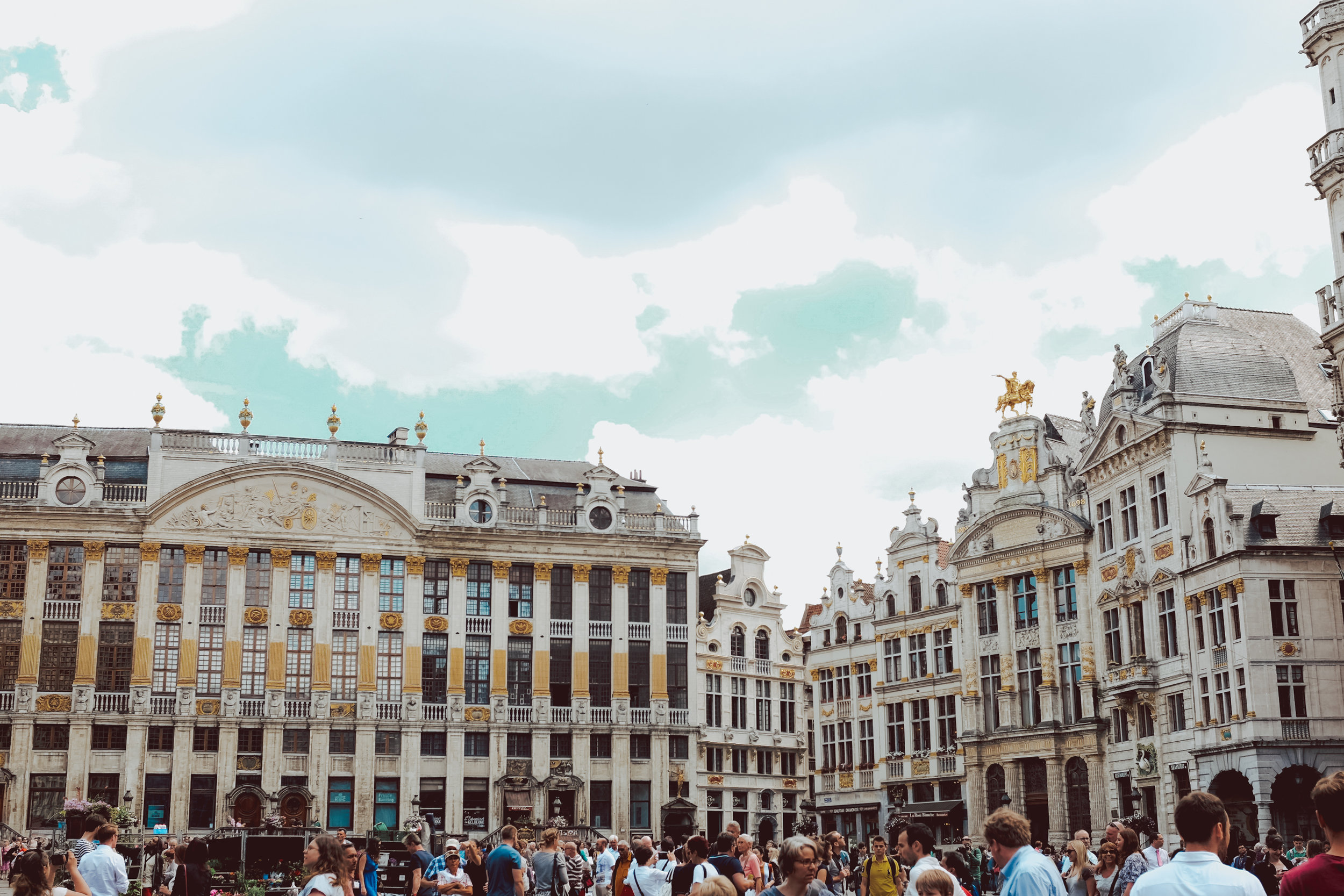 Grand Palace - One day in Brussels Belgiun - A first timer guide to the Belgium capital