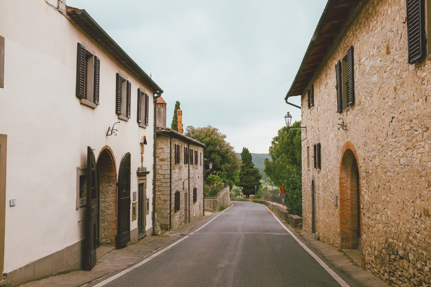 Road Trip in Chianti - Italy Small Town