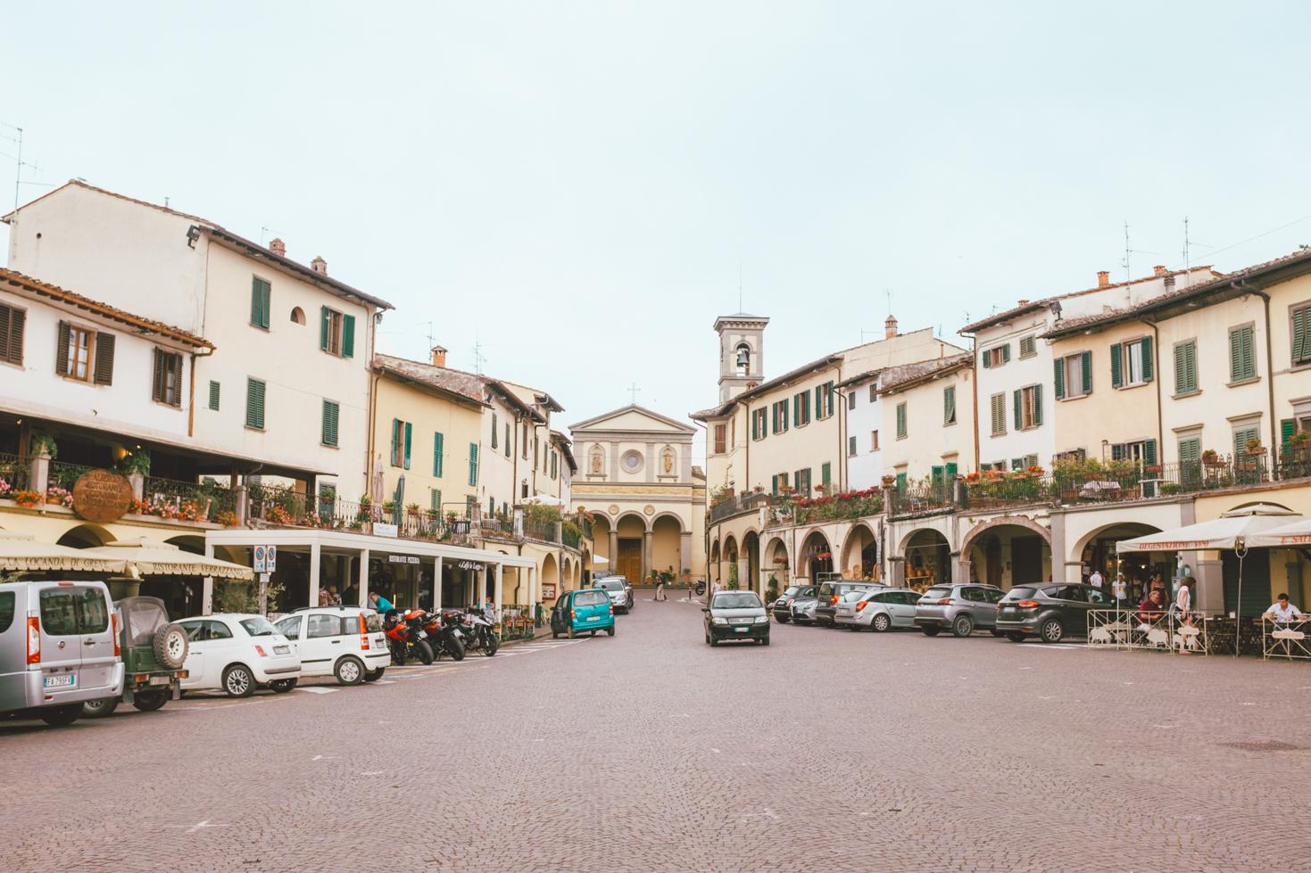Greve Chianti Italy Road Trip