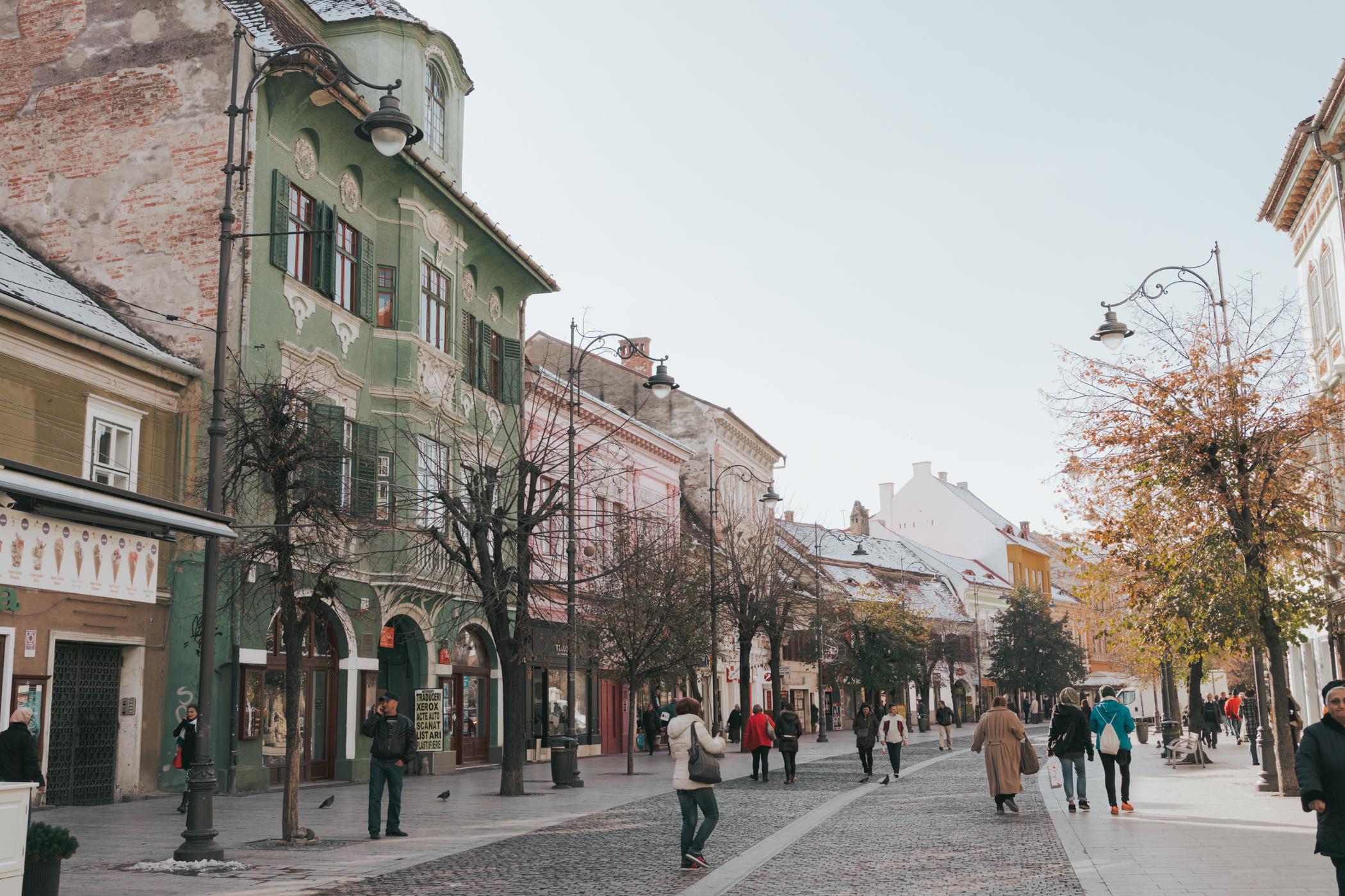 Strada Nicolae Balcescu Sibiu