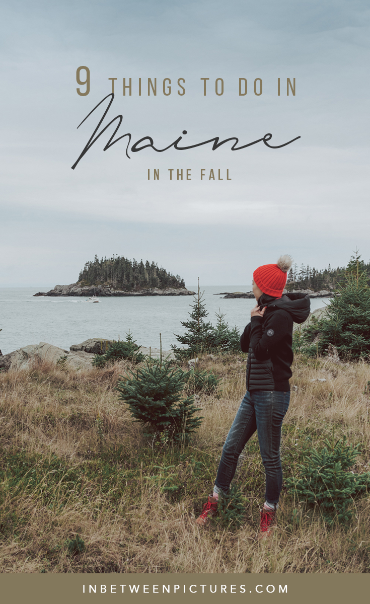 9 Things to do in Maine in the Fall - Road trip itinerary in Maine and everything you need to know before visiting.