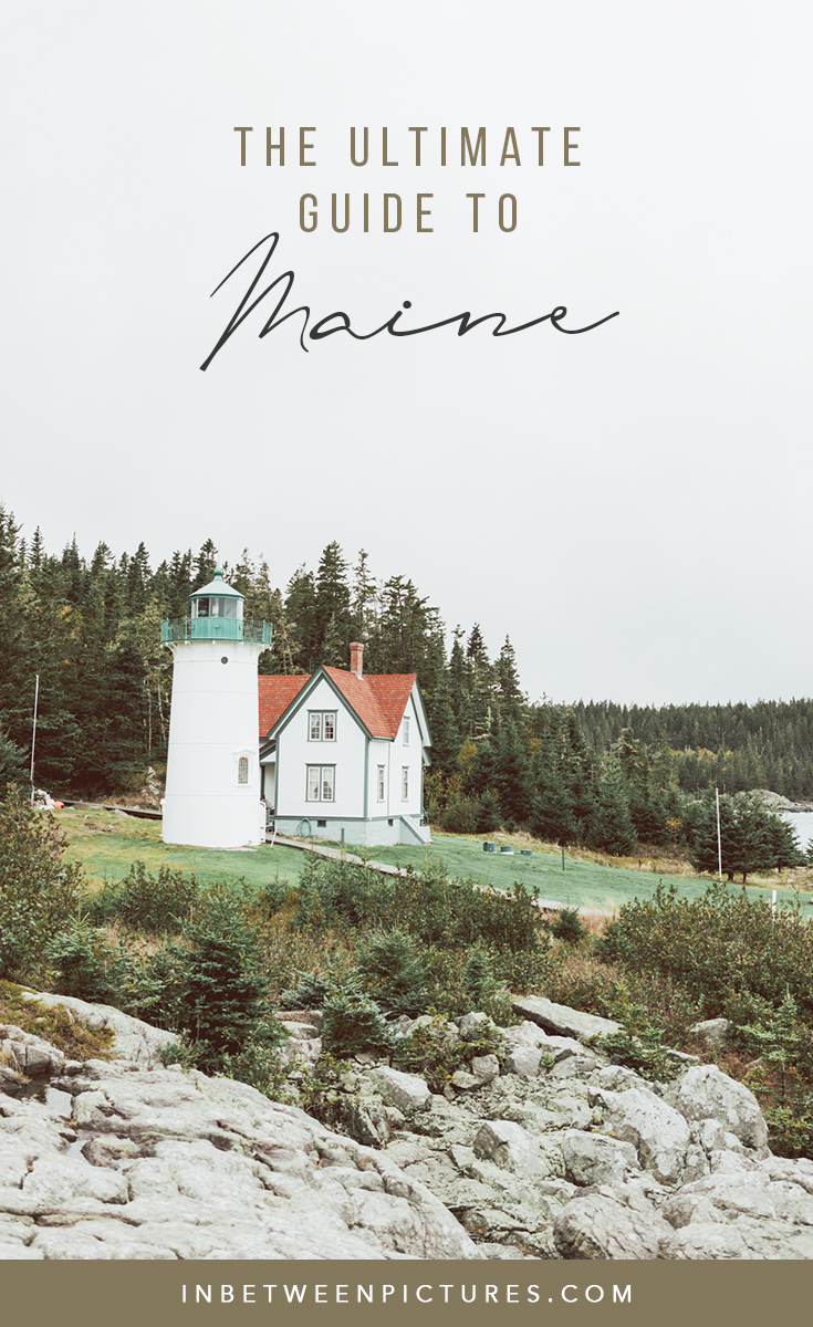 Ultimate Guide to Planning a Trip to Maine in the Fall Road trip itinerary in Maine and everything you need to know before visiting.