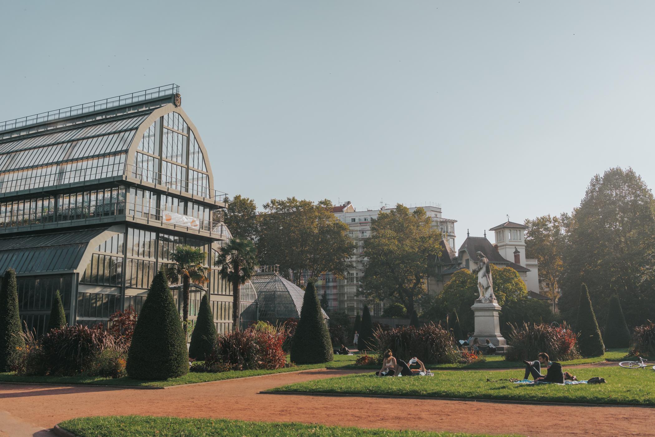 10 things to do in Lyon France - Parc De la tete D'or