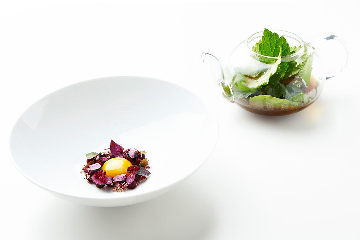 Geranium Michelin Star Restaurant in Copenhagen New Nordic Food
