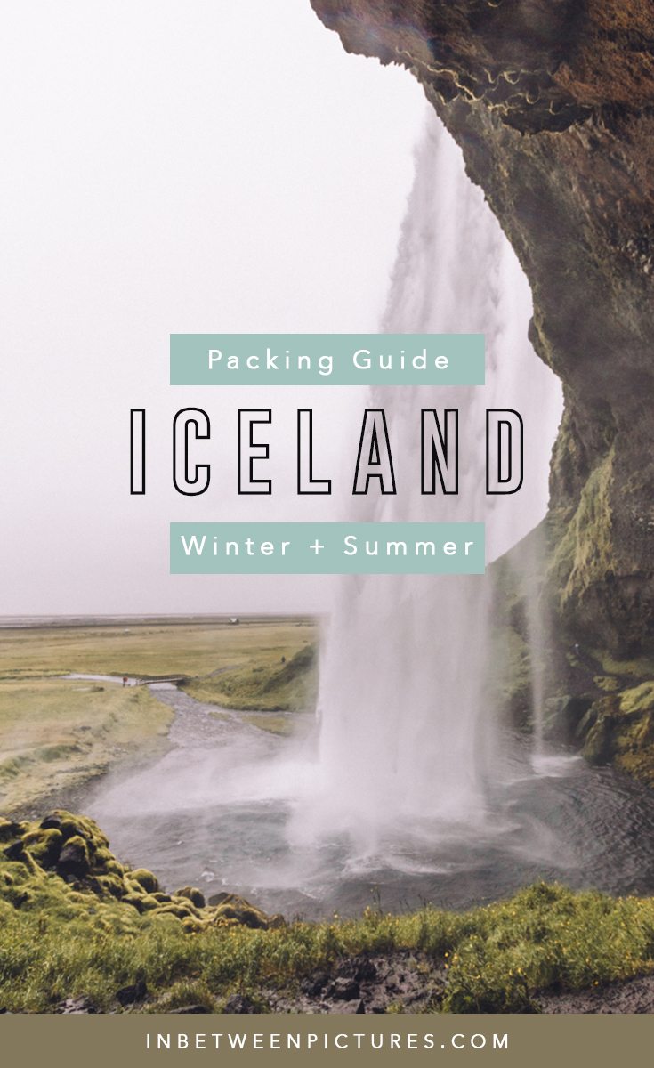 Visiting Iceland? The ultimate packing guide for Iceland for winter and summer - What shoes to pack, layers, outwear, and essentials, to add to your Iceland packing list #Europe #PackingList #Iceland #RingRoad