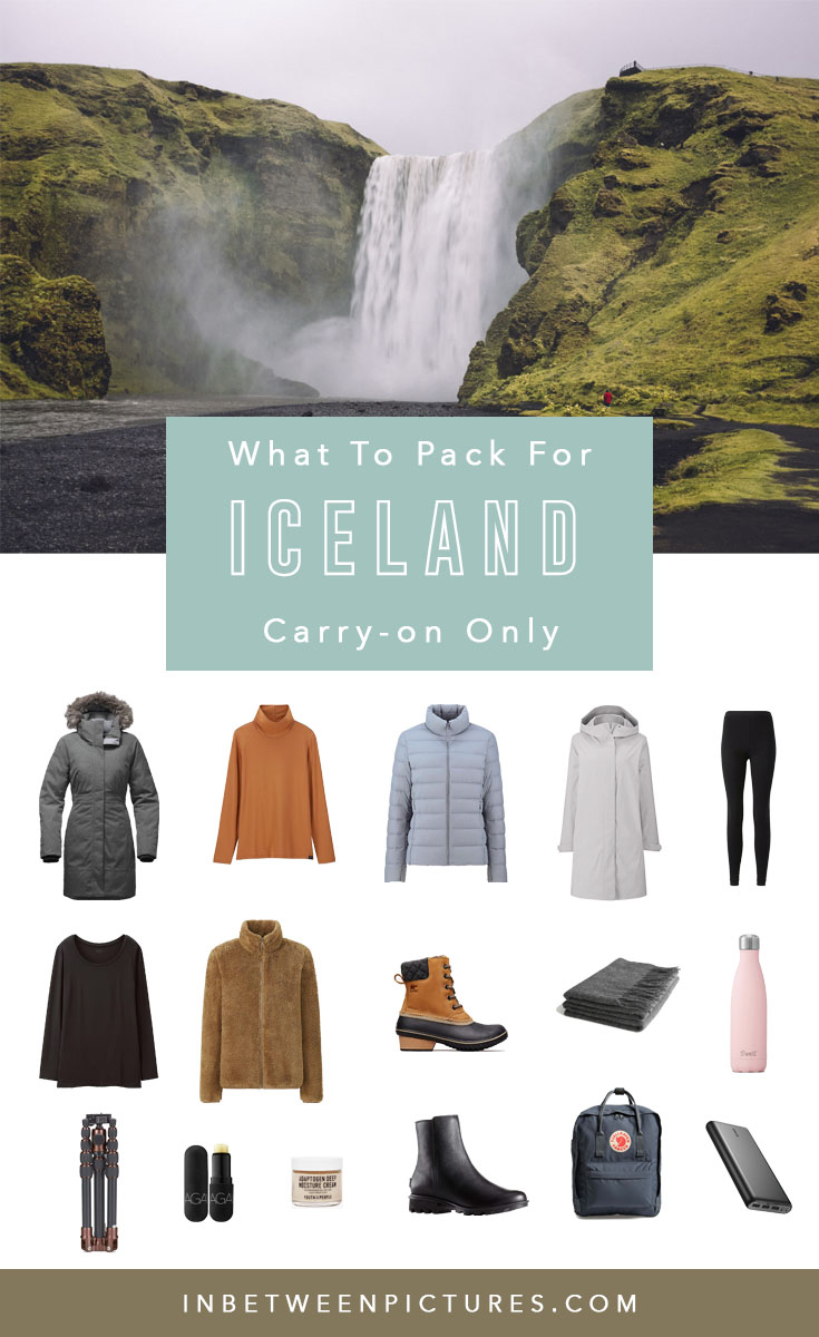 What to pack for Iceland in the summer or winter - How to pack for Iceland Carry On only - #Europe #PackingList #Iceland #RingRoad