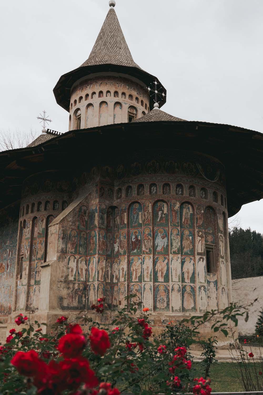 UNESCO Heritage Site Bucovina Painted Church - Romania Road Trip
