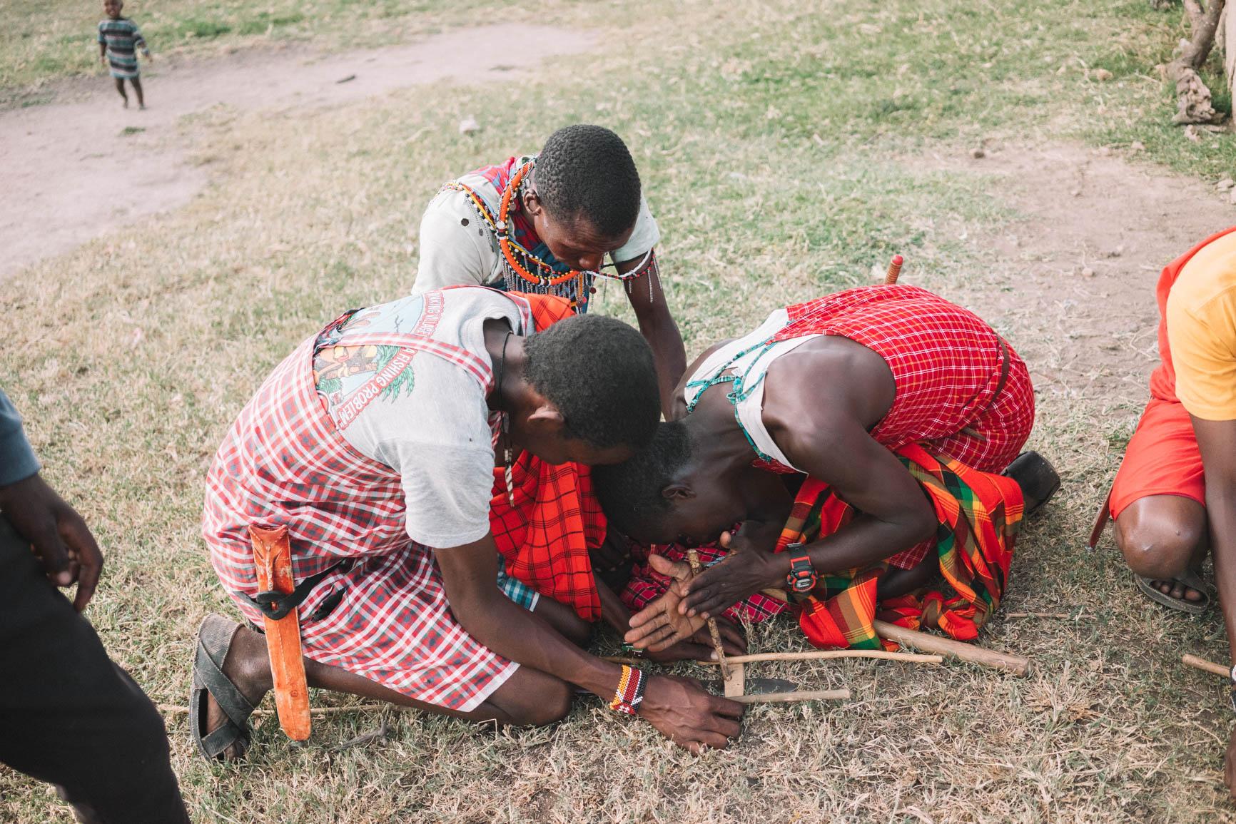 Maasai Village Visit Kenya