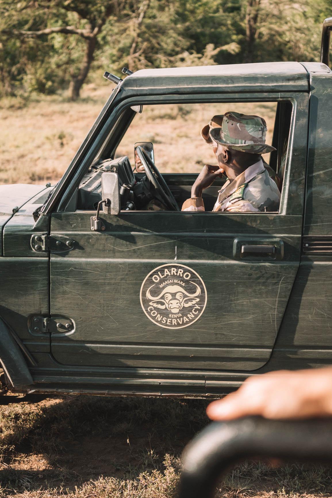 Olarro Conservancy Ranger Kenya Private Reserve - Kenya wildlife safari #Kenya #Africa #Safari