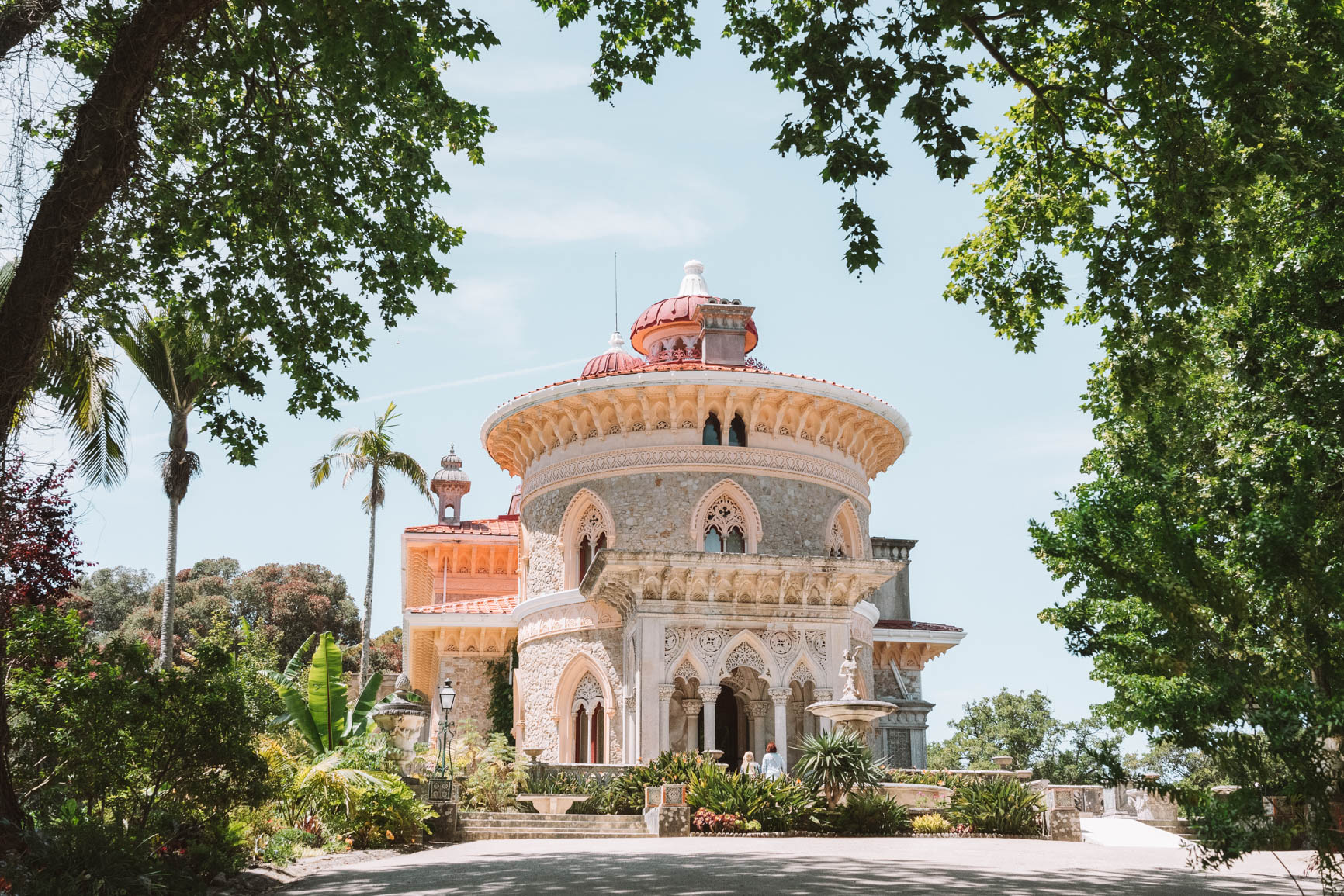 Day trip from Lisbon to Sintra - Monsesrrate Palace