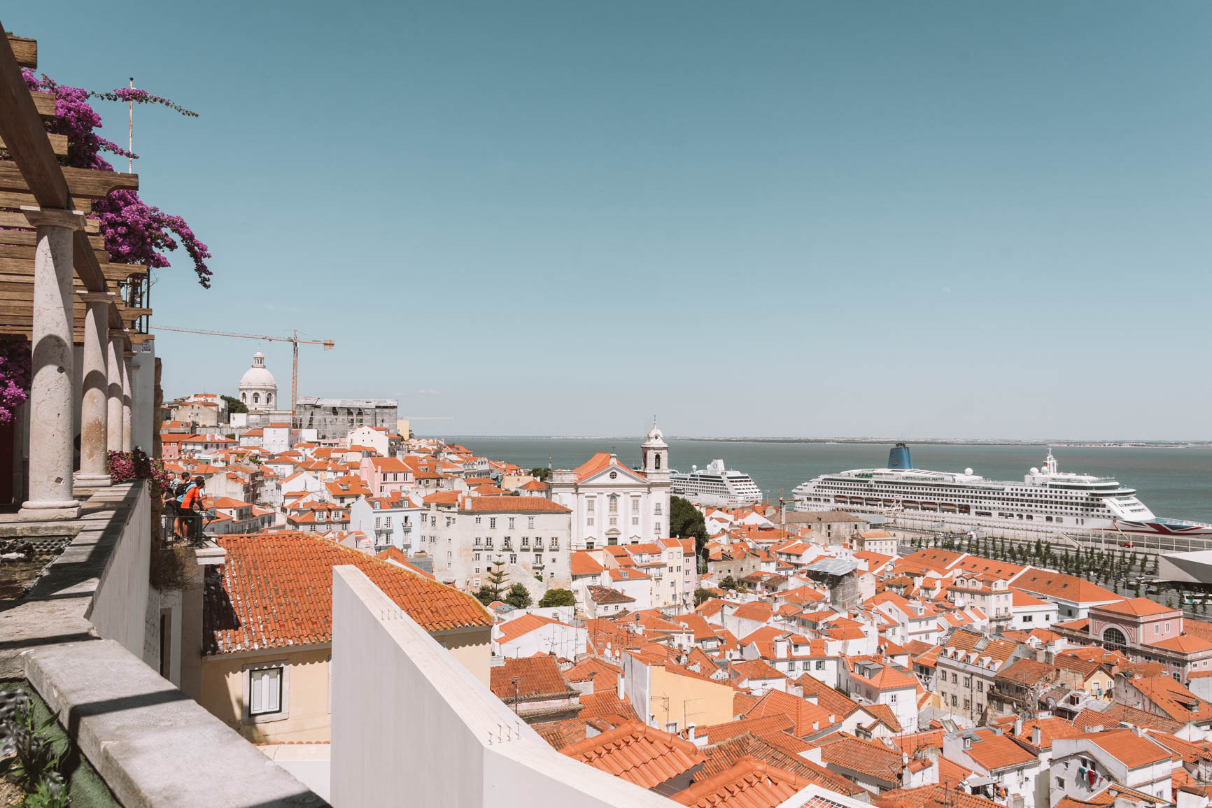 The ultimate guide to Lisbon Portugal - Things to do in Lisbon: visit Miradouro de Santa Luzia