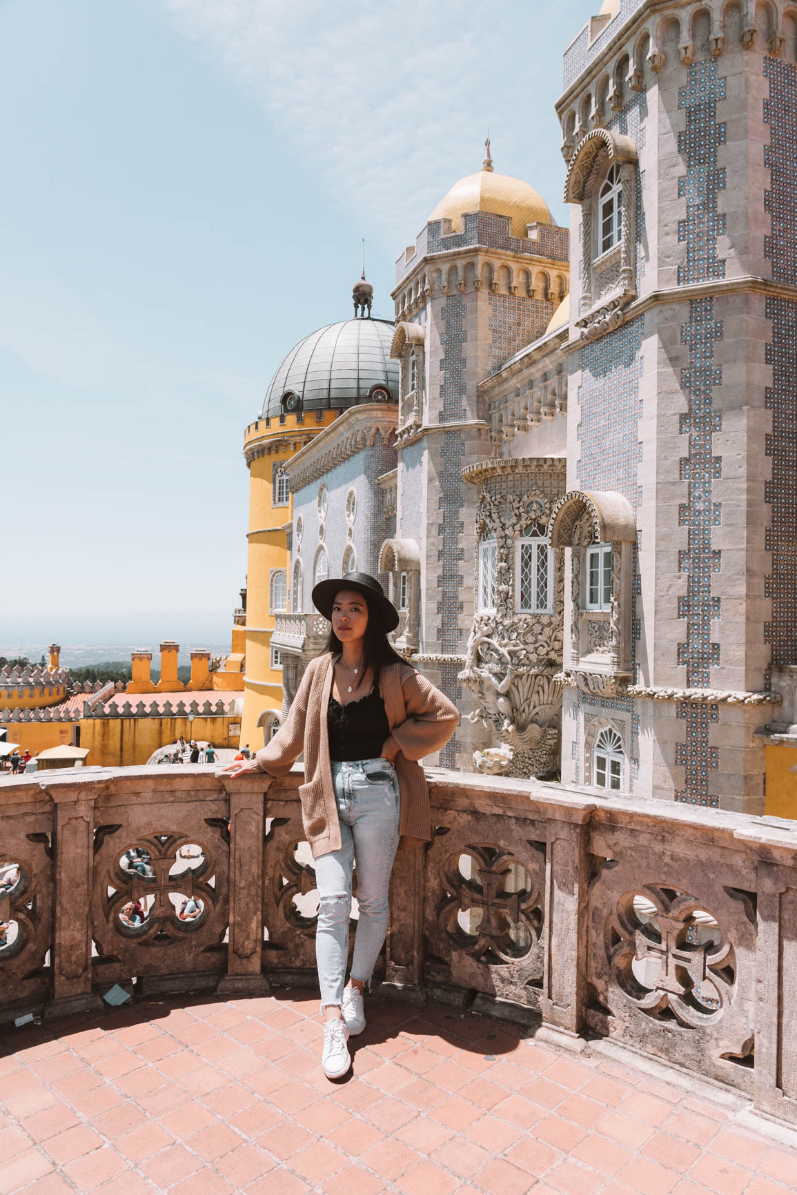 Palacio da Pena - Ultimate Guide to Visiting Sintra Portugal in a day trip from Lisbon Portugal  #Sintra #Lisbon #Portugal #Europe