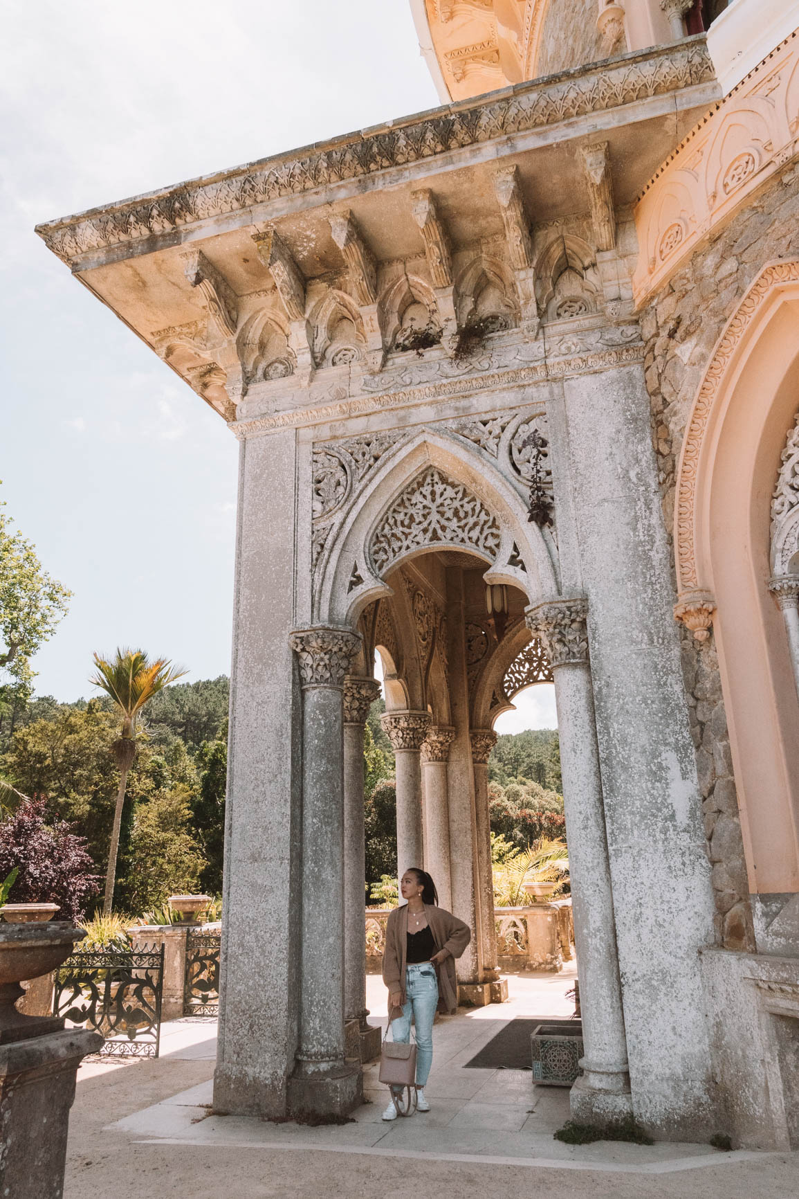 Monserrate Palace - Ultimate Guide to Visiting Sintra Portugal in a day trip from Lisbon Portugal  #Sintra #Lisbon #Portugal #Europe