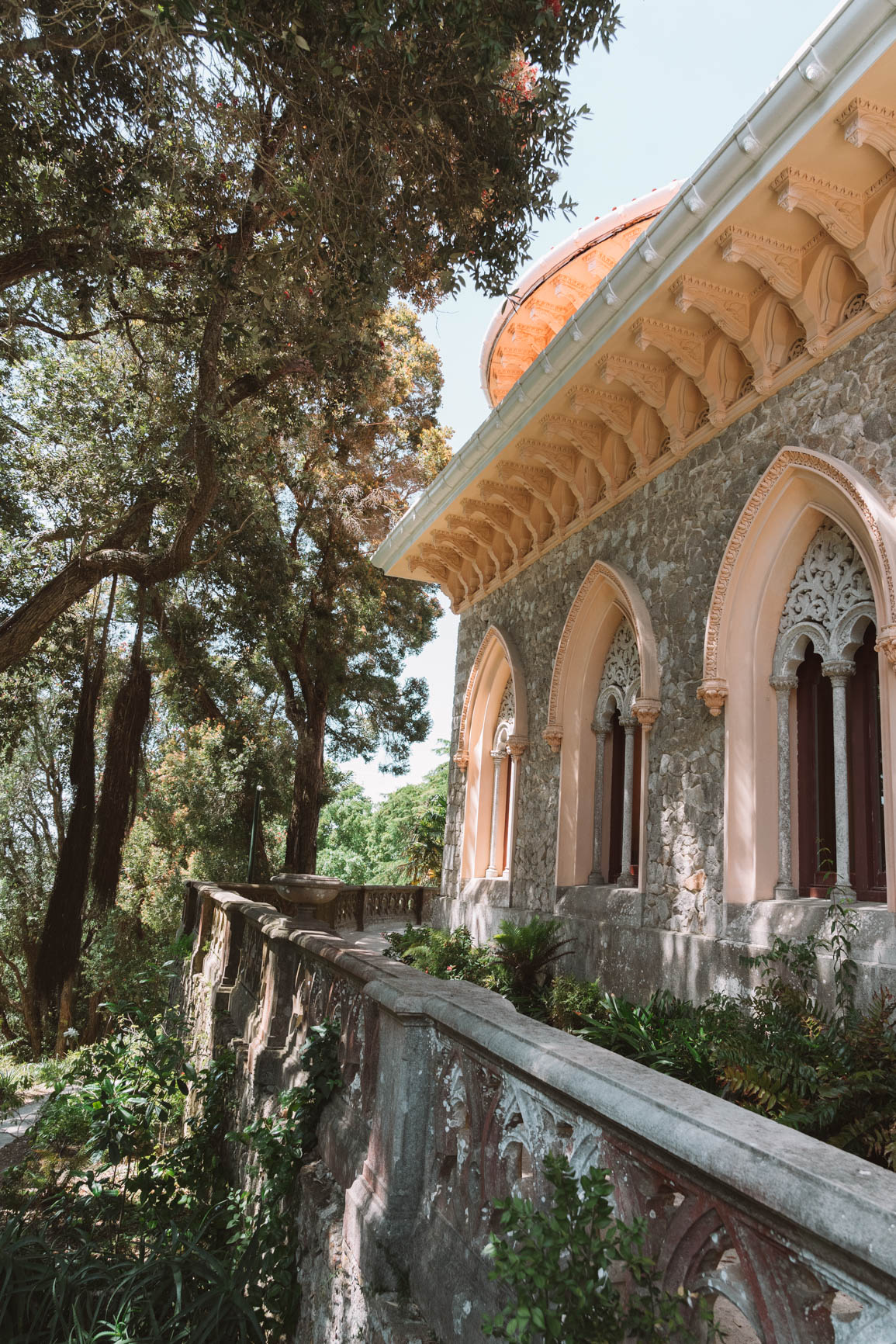Monserrate Palace or Palacio de Monserrate - Ultimate Guide to Visiting Sintra Portugal in a day trip from Lisbon Portugal  #Sintra #Lisbon #Portugal #Europe